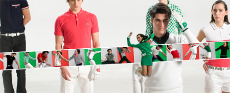 Lacoste Red!